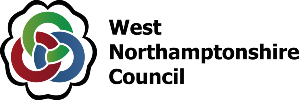 West Northamptonshire Council logo